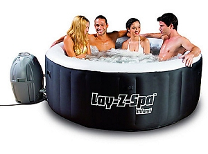 Aufblasbarer Whirlpool Lay-Z-Spa Miami